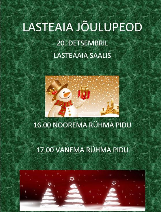 jõulupeod